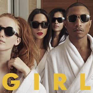 "Pharrell Williams ""G I R L"" - ab 3. März 2014"