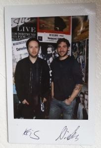 Kris & Niels Polaroid