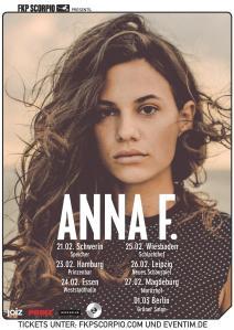 ANNA F. Tourposter