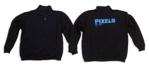 Beispielfoto-Sweatshirt-Pixels