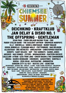 Chiemsee Summer Line up