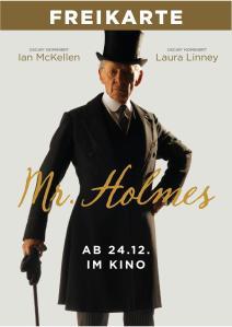 Mr Holmes Freikarte-