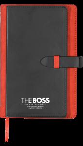 THE BOSS - Notizblock - Verlosung